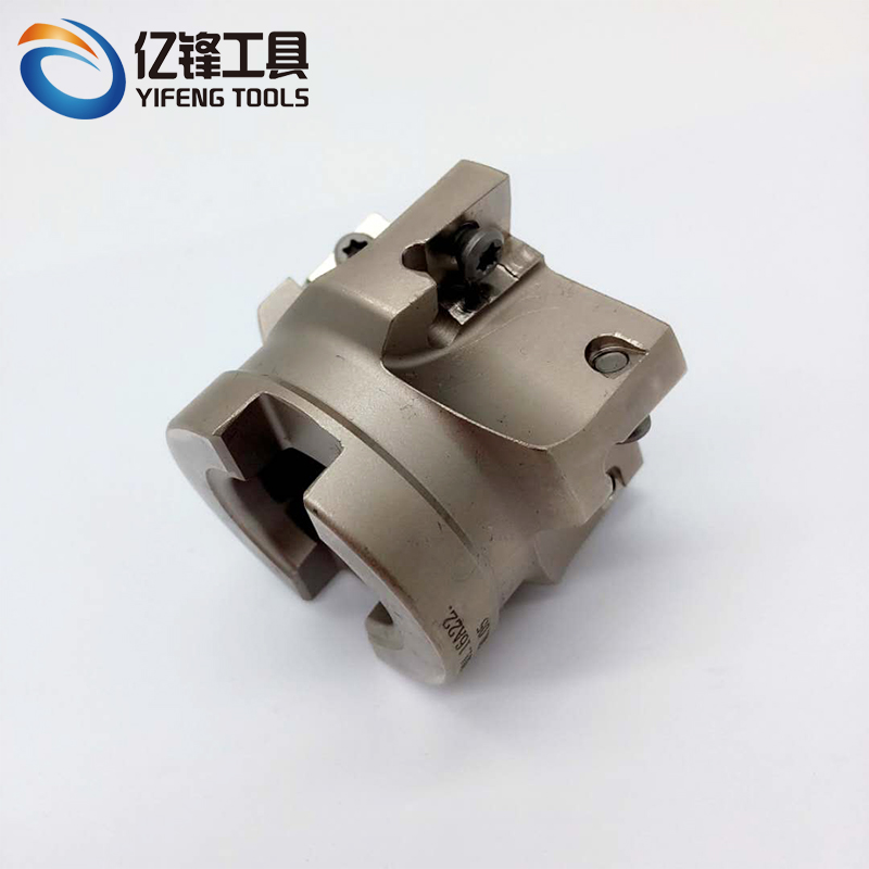 square shoulder milling cutter EMP02 CNC indexable milling tools