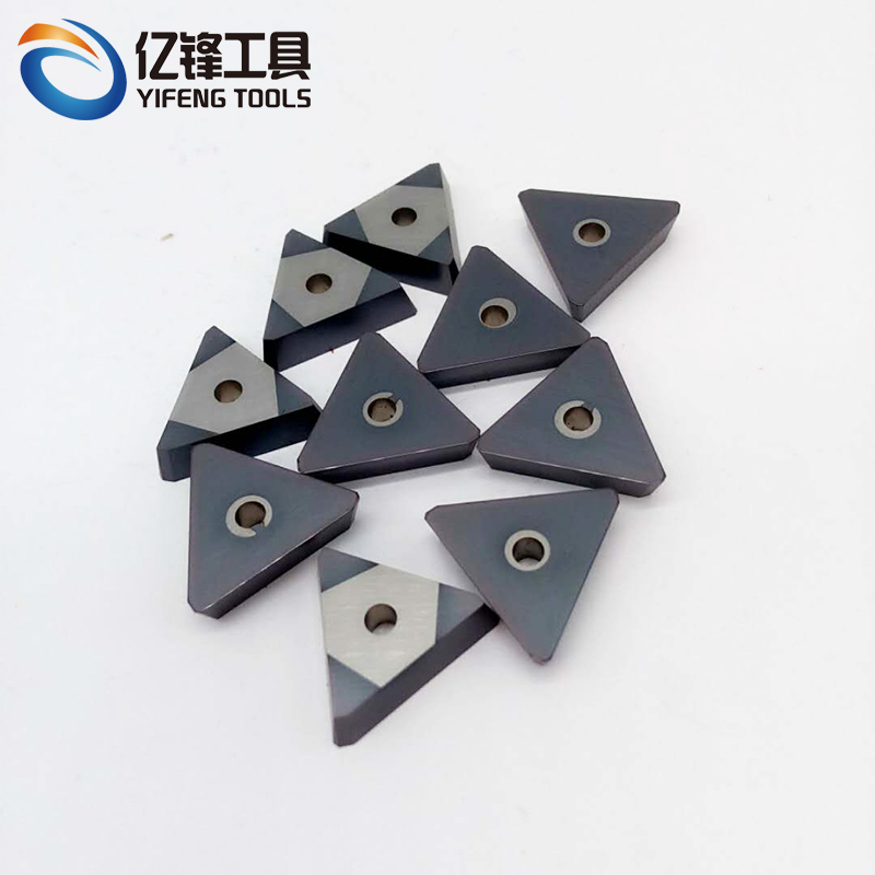 cemented carbide inserts with hole TPKN indexable turning inserts